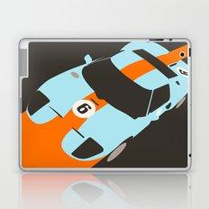 Orange Notch - Ford GT40 Race Car Laptop & iPad Skin