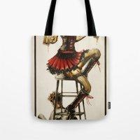 Zombie Beer Girl Tote Bag