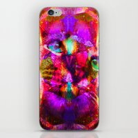 Crystal Cat - Sir Parker iPhone & iPod Skin