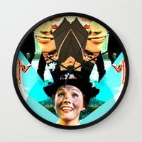 Molly Poppins Wall Clock