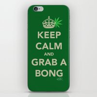 Keep Calm And Grab A Bon… iPhone & iPod Skin