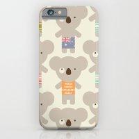 iPhone & iPod Case featuring Koala-lala by shiny orange dreams