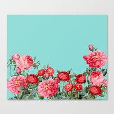 Fab Floral Canvas Print