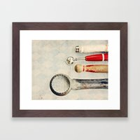 Diamond Tools Framed Art Print