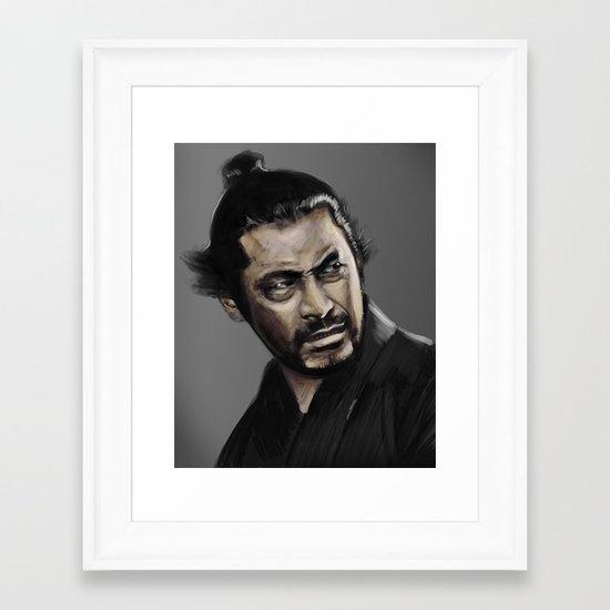 Yojimbo Framed Art Print