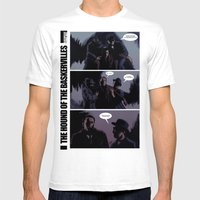 The Hound Of The Baskerv… Mens Fitted Tee White SMALL