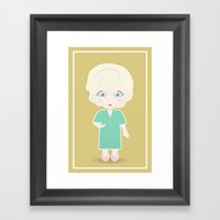 Girls In Their Golden Ye… Framed Art Print