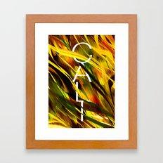 CAMO CALI II Framed Art Print