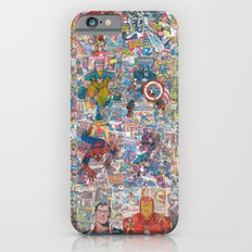 Vintage Comic Superheroe… iPhone 6 Slim Case
