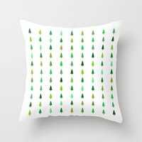 99 Trees, None Of Them A… Throw Pillow