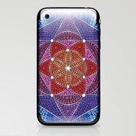Creation Mandala iPhone & iPod Skin