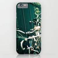 iPhone & iPod Case featuring Brooklyn Bikes by Ashley Jensen
