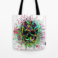 COLOUR SKULL  Tote Bag