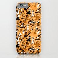 Monster March (Orange) iPhone 6 Slim Case