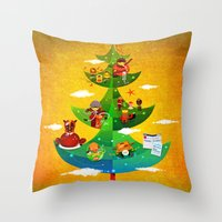 A Very Filipino Christma… Throw Pillow