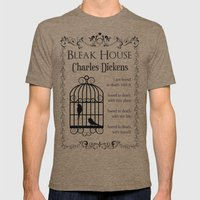 Bleak House by Charles Dickens Mens Fitted Tee Tri-Coffee SMALL