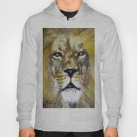 Title: Mesmerizing Lion … Hoody