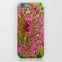 iPhone & iPod Case featuring floral Explosion by Laura Santeler