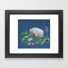 Geometry In Nature - Sha… Framed Art Print