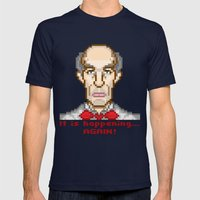 It is happening... again (Twin Peaks Giant) Mens Fitted Tee Navy SMALL
