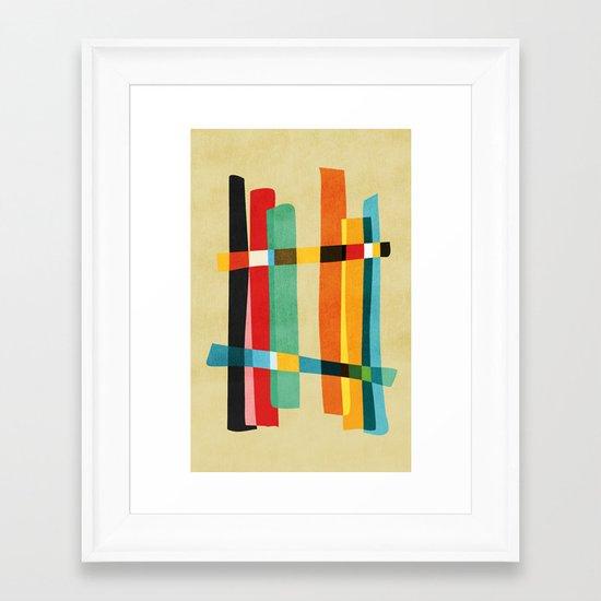 Broken Fences Framed Art Print