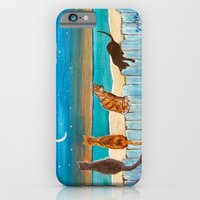 Cats On A Fence iPhone 6 Slim Case