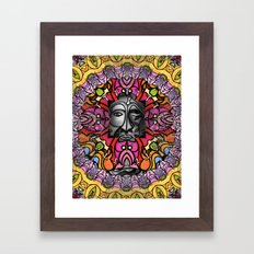 Face One Framed Art Print