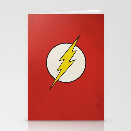Flash Minimalist  Stationery Card