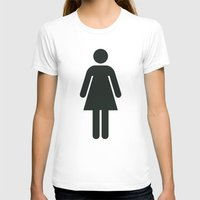 woman T-shirts featuring Woman by Alejandro Díaz