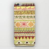 Pizza Pattern iPhone & iPod Skin