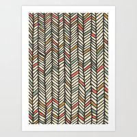 Autumn Threads Art Print