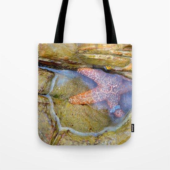 Tidepool Starfish Tote Bag