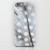 Polka Dot Feather iPhone 6 Slim Case
