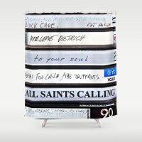 All Saints Calling  Shower Curtain