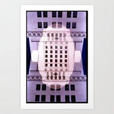 Landscapes c15 (35mm Double Exposure) Art Print
