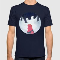 The Age Of Curious Mens Fitted Tee Navy SMALL