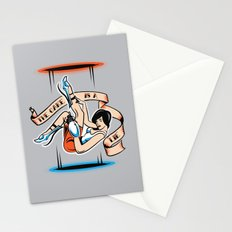 The Cake is a Lie Stationery Cards