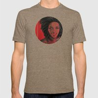 Lauryn Hill Mens Fitted Tee Tri-Coffee SMALL