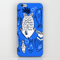 Poissons de La Mer iPhone & iPod Skin