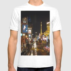 The Strip Mens Fitted Tee White SMALL