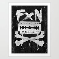 Fiction Design Art Print