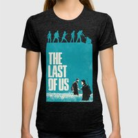 The Last Of Us Womens Fitted Tee Tri-Black SMALL