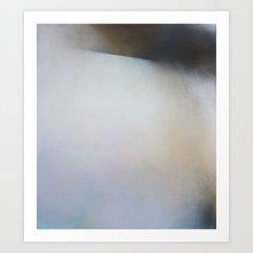 New Salt - Abstract landscape painting art Art Print