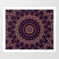 Peacock Jewel Art Print