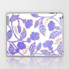 Mandavilla Blue Laptop & iPad Skin