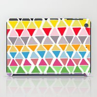 triangle pattern iPad Case