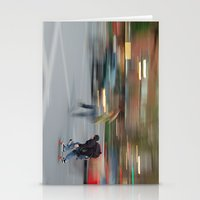 New York City Skaters #1 Stationery Cards