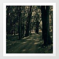 Let's take a walk Art Print