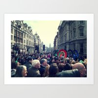 A London Parade  Art Print