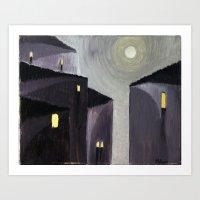 Vicolo (Alley) Art Print
